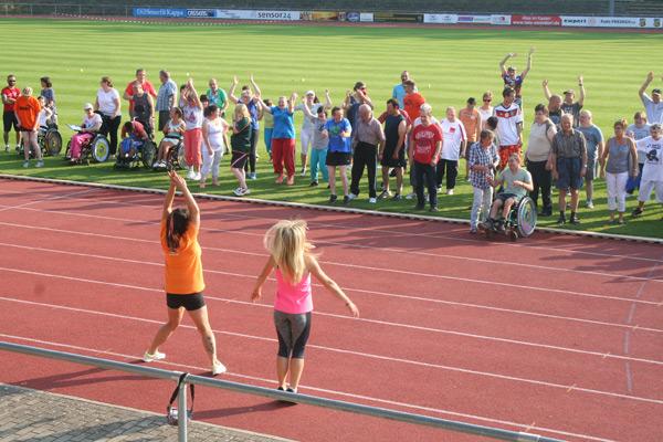 Sportfest für Menschen mit Handicap